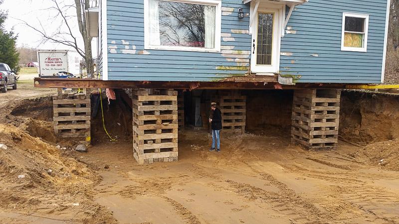 Basement Plumbing Install