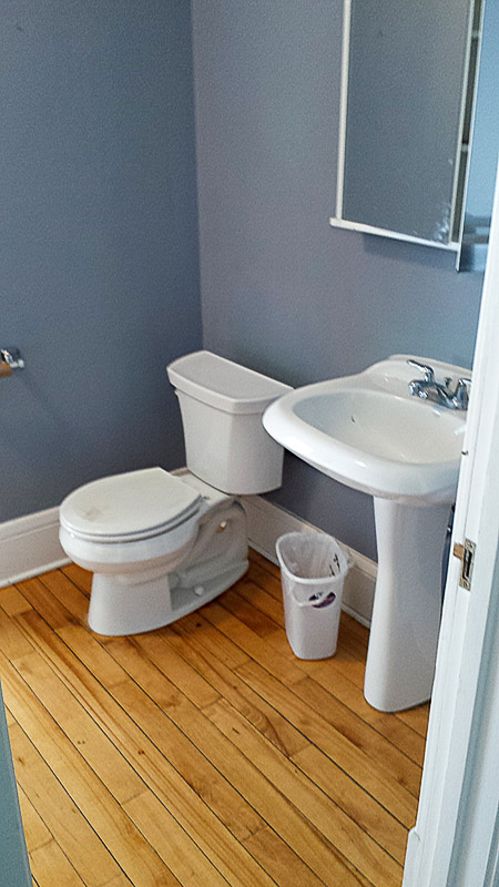 Bathroom Install-New Toilet & Sink